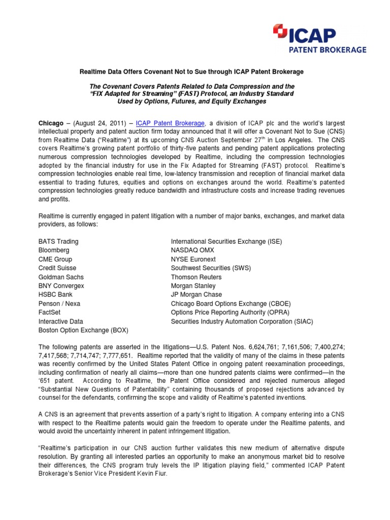 Realtime Data LLC CNS_Press Release_Final_8 24 11 (2