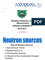 Neutron Sources and Interaction 2003