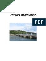 ENERGÍA MAREMOTRIZ