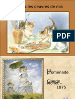 Chats impressionnistes