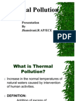 Thermal, Marine, Soil Pollution