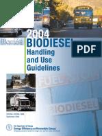 Biodiesel Handling Guidelines