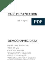 Case Presentation 2003