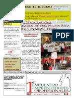 Newsletter Abril 2011