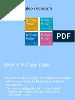 McCann Pulse Research