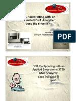 Dna Foot Printing