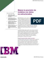 Modeler Premium-Mejore La Precision de Modelos Con Datos No Estructurados