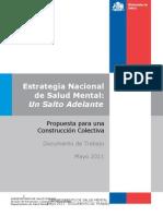Estrategia Nacional de Salud Mental (mayo 2011) - Gobierno de Chile