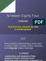 Nineteen Eighty Four Language