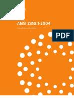 ANSI Z358.1-2004