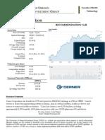 CERN - Analyst Report - UofA