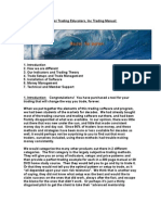 Tsunami Trading Educators Trading Manual