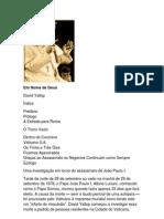 Em Nome de Deus Uma investigação em torno do assassinato de João Paulo I -  David Yallop1(1)