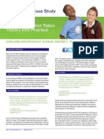 Garland Independent School District - PD 360 Case Study