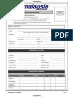 Application Form Mas