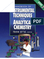 Handbook of Instrumental Techniques for Analytical Chemistry Settle 1997
