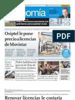 El Comercio - Renovar licencias le costaría US$830mm Movistar UNIDO