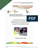 LINEAMIENTOS  D.G.E.P.F 2011-2012