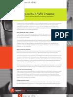 Curing Social Media Trauma