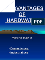 Disadvantages of Hardwater