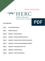 New England HERC User Guide 2011