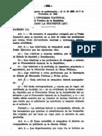 Ley No.111 sobre Exequátur