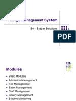 College Management System
