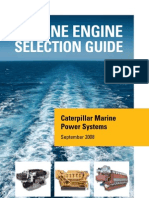 Cat Marine Engine Selection Guide