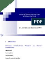 Dr. José Soares de Melo - Nulidades do Processo Administrativo