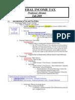 INCOMETAXOUTLINEFALL2009V1