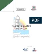 Paquete Basico Salud Villeta