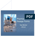 Pharmaceutical Dosage Forms 1 2011