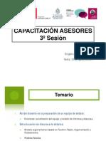 TORNEO INTERESCOLAR DE DEBATES - Capacitación Asesores - Tarapaca 2011