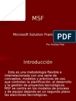 Metodologia MSF