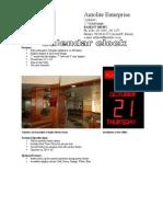 Autotlie School and College Display Product Range