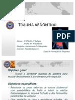 APH - Trauma de Abdome e Pelve - Apresentação