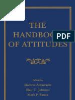 Albarracin Et Al - The Handbook of Attitudes