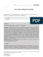 Enfermedad Injerto Versus Huesped (Paper)