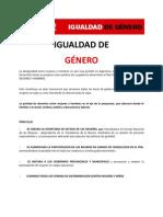 Igualdad de Género - Ricardo Alfonsín 2011