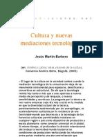 Cultura y nuevas mediaciones tecnológicas