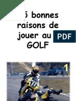 15 raisons de jouer au golf