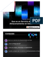 Que es un Servicio de Almacenamiento en línea Camilo Piñeros