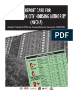 NYCHA Report Card
