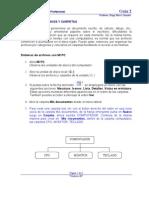 GUÍA 2 Windows XP Archivos y Carpetas