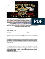 Inshore Tournament Application