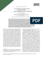 Gene Quantification Using Real-time Quantitative PCR an Emerging Technology Hits