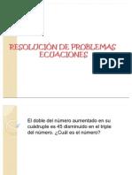 PROBLEMAS ECUAC IONES 7º2011