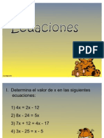 Ppt Ecuaciones