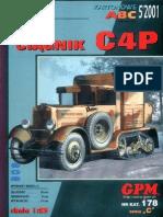 [GPM 178] - Artillery Tractor C4P