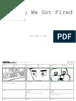 RETAILiation - Rough Storyboard